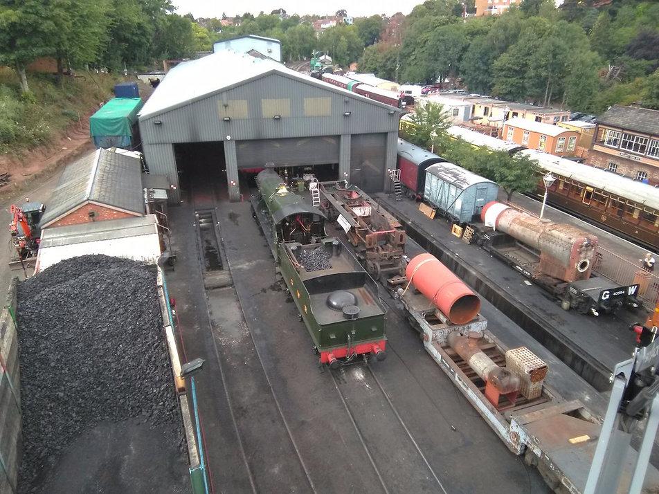 Bridgnorth loco yard c Antony Bartlam.JP