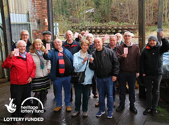 SVR thanks National Lottery players HLF.