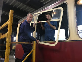 Steve Bloomer and Yoan Gerard at Kidderm