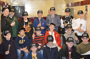SVR Junior club March 2019 with new caps