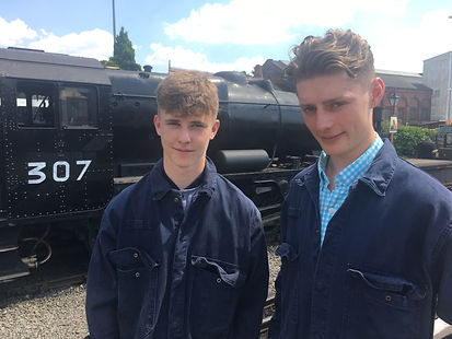 New apprentices Jacob Cox and Barney Hil