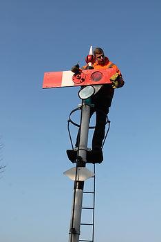 Apprentice signal maintenance technician