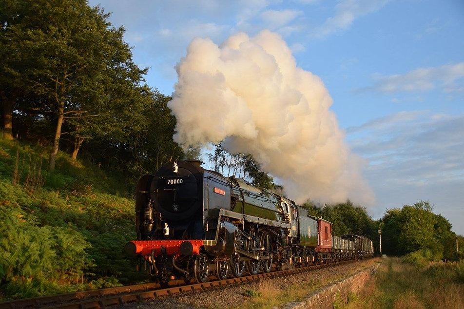 70000 Britannia for autumn steam gala c