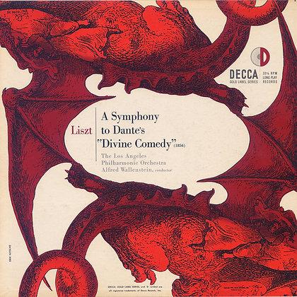 "Alfred Wallenstein/LAPO - Liszt's ""Dante"" Symphony"