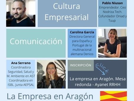 """Evento """"La empresa en Aragón"""""""