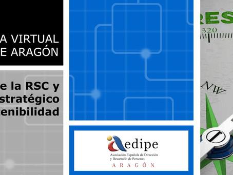 Aula Virtual AEDIPE ARAGÓN: Gestión de la RSC y plan estratégico de sostenibilidad