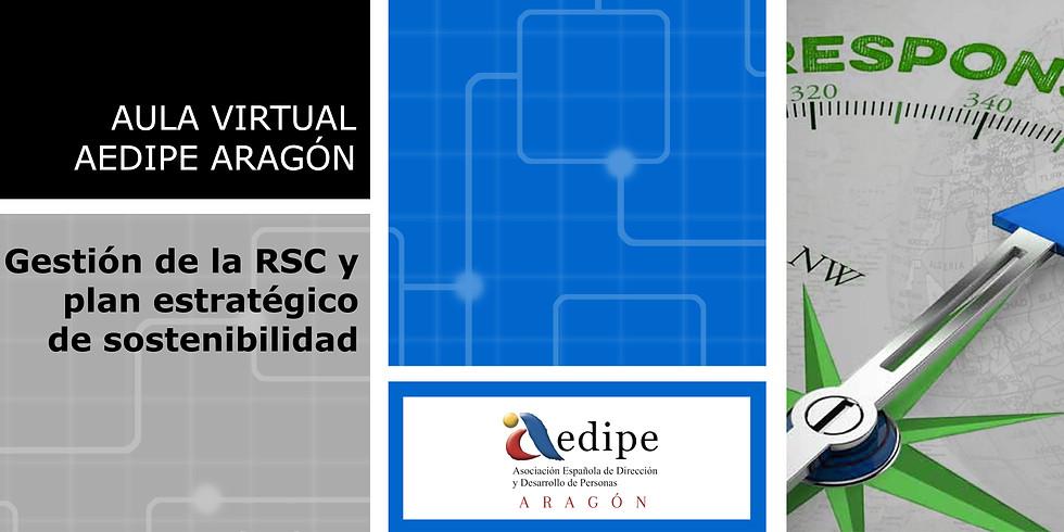 Aula Virtual Gestión de la RSC y plan estratégico de sostenibilidad