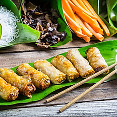 Egg Rolls without veggie on the side - Chả Giò Ko Rau