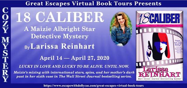 18 CALIBER virtual book tour