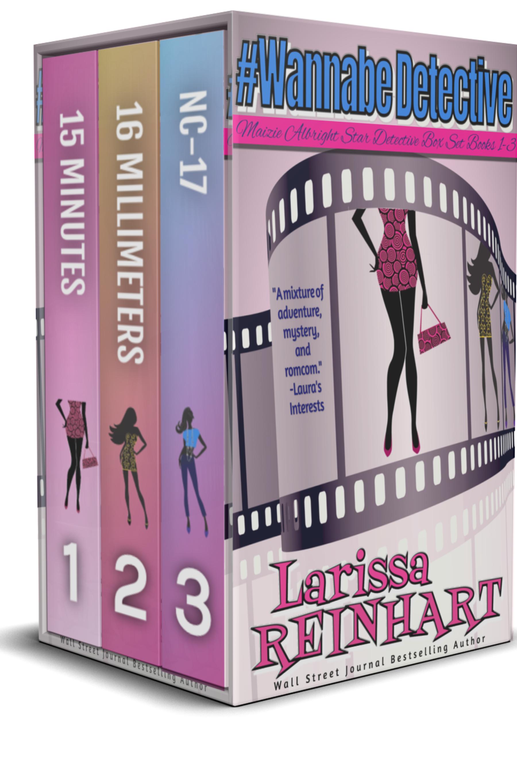 #WannabeDetective: Maizie Albright Star Detective box set