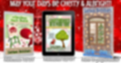 Three new humorous romantic mystery holiday releases