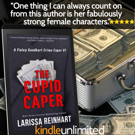 TGIF! New on Kindle Unlimited: The Cupid Caper