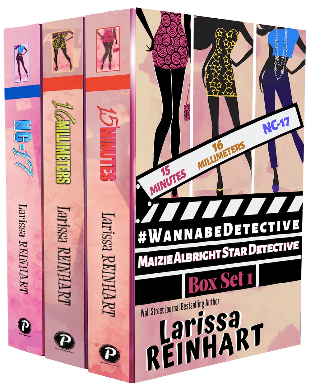 #WannabeDetective Maizie Albright Box Set 1