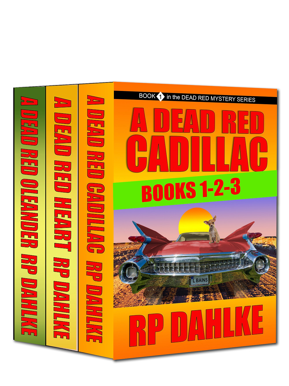 A DEAD RED CADILLAC Books 1-3