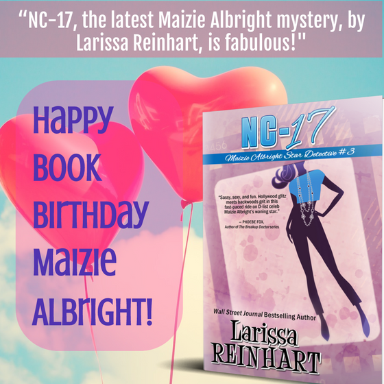 Happy Release Day Maizie Albright!