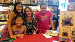 Author Larissa Reinhart at Barnes & Noble signing