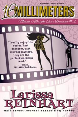 16 MILLIMETERS, Maizie Albright Star Detective book 2 (ebook cover)