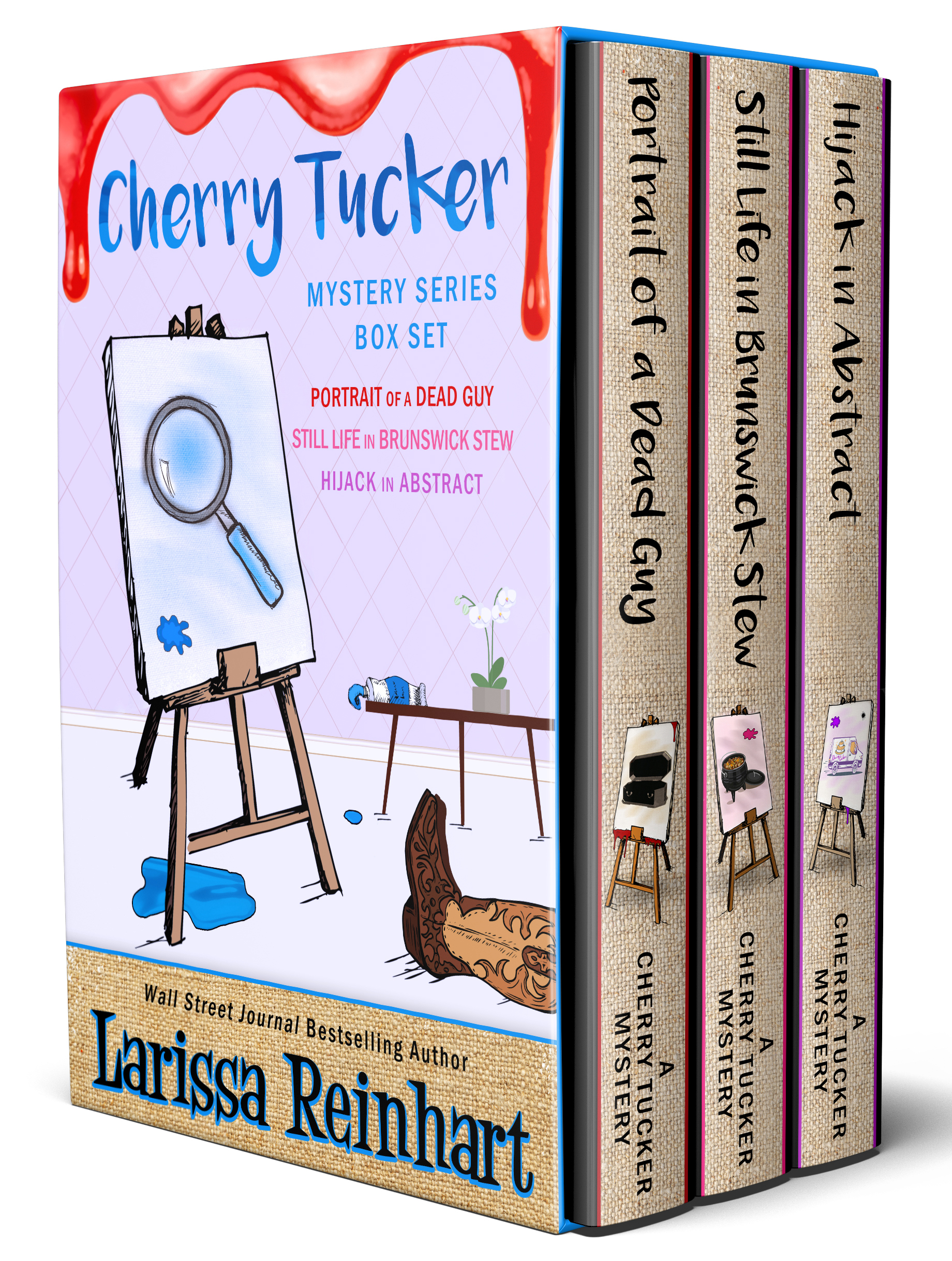 Cherry Tucker Mystery Series Box Set 1