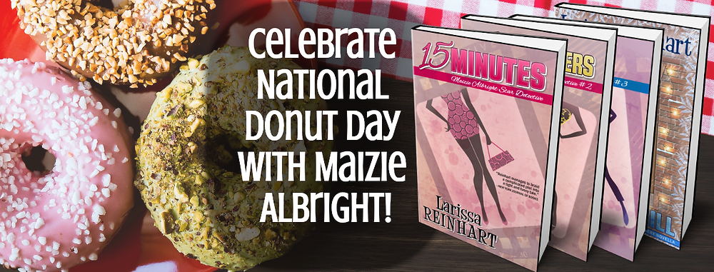 Celebrate National Donut Day with Maizie Albright!