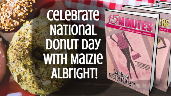 Celebrate Donut Day with Maizie Albright