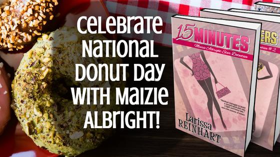 Celebrate Donut Day with Maizie Albright