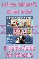 Larissa Reinhart's Series Order Booklet