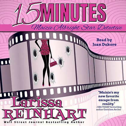 15 Minutes Audiobook Cover