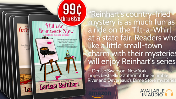 Still Life in Brunswick Stew is 99c this week!