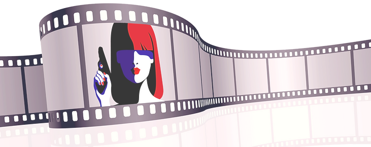 girl%20in%20pink%20film%20strip%20vector