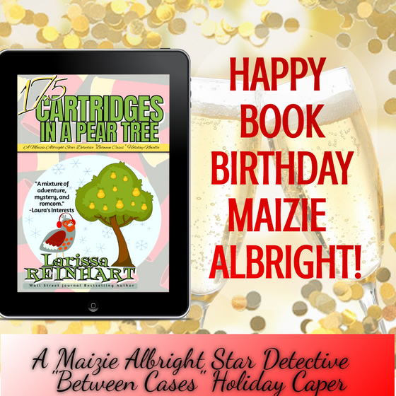 Happy Book Birthday Maizie Albright!