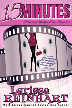 15 MINUTES, Maizie Albright Star Detective book 1 (ebook cover)