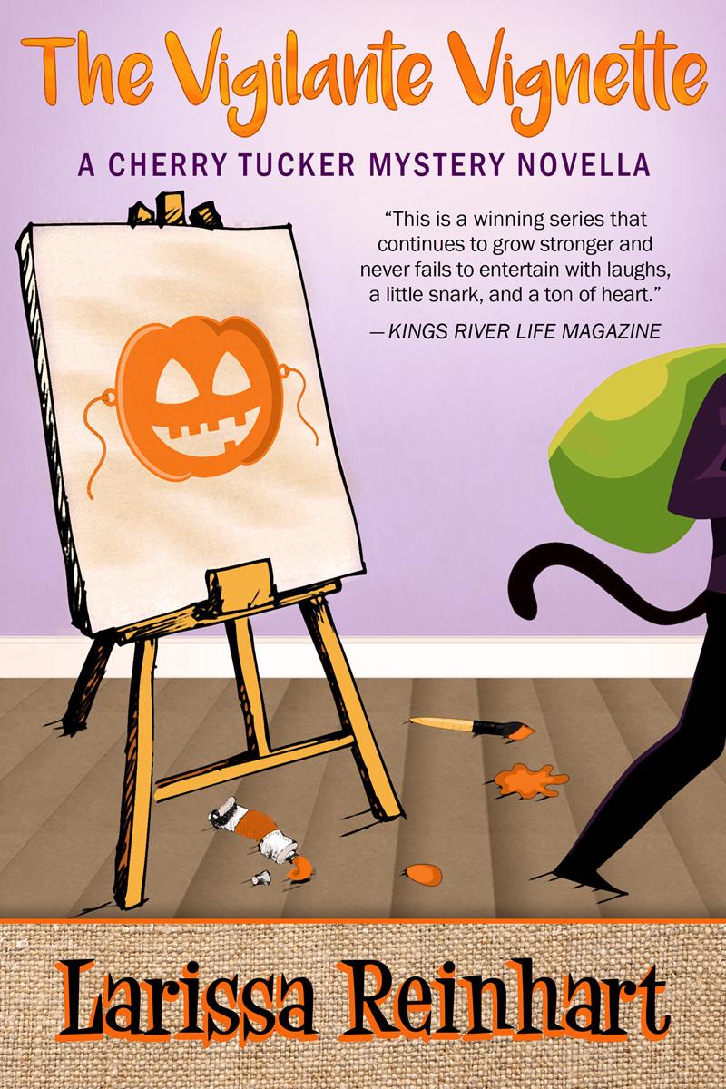 The Vigilante Vignette, A Cherry Tucker Halloween Cozy Mystery