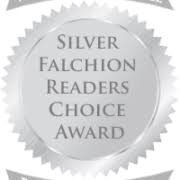 Silver Falchion Readers  Choice Award seal