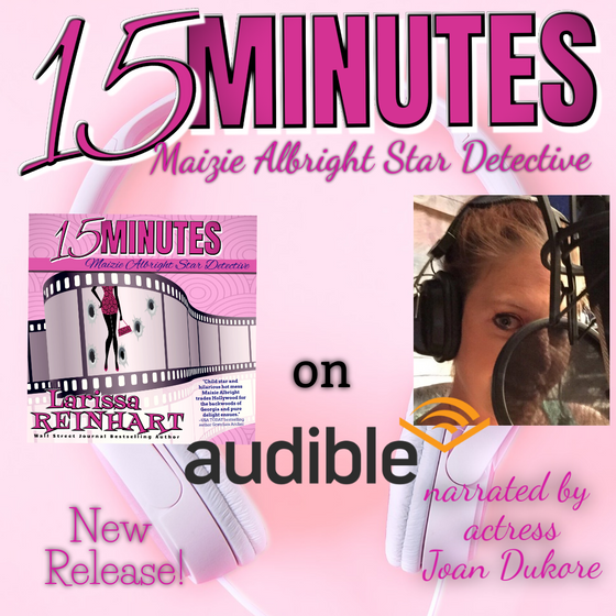 15 MINUTES now as an #Audiobook