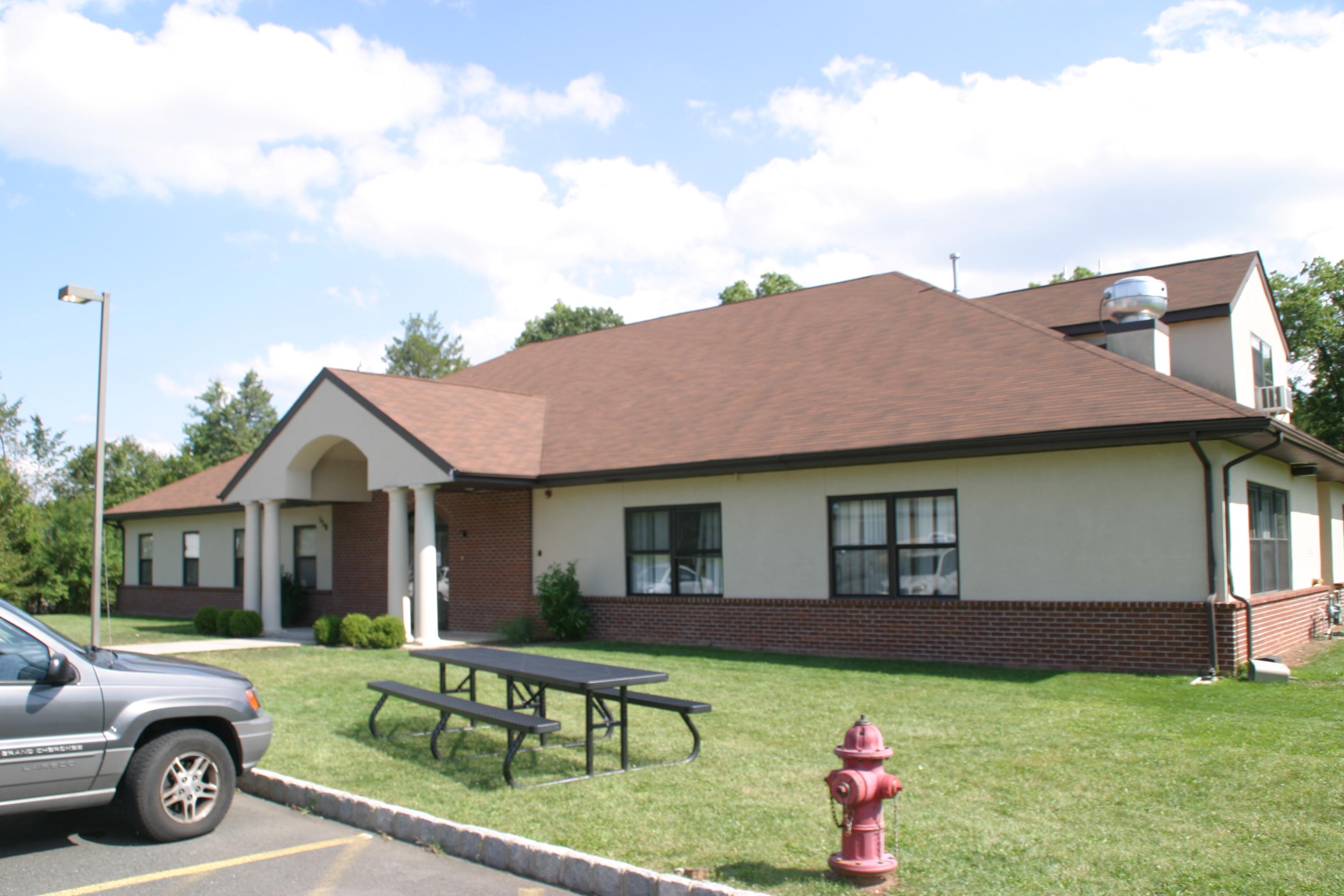 Church rec center roof install