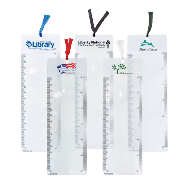Magnify Your Marketing Results with Custom-Imprinted Bookmark Magnifiers!