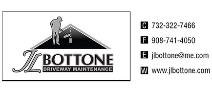 JL Bottone Driveway Maintenance Logo