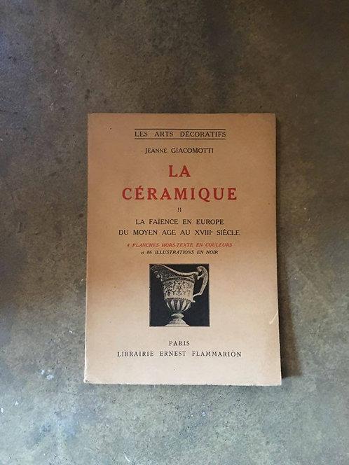 "GIACOMOTTI Jeanne  ""La céramique"""