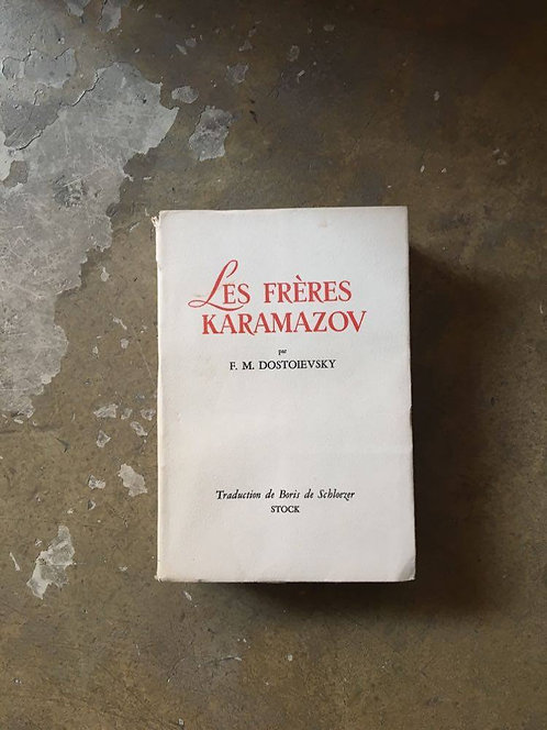 """DOSTOIEVSKY  """"Les frères Karamazov"""""""