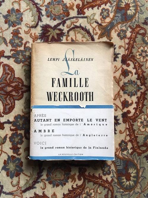 """JÄÄSKELÄINEN Lempi  """"La famille Weckrooth"""""""