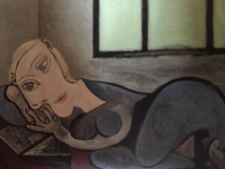 FEMME COUCHÉE LISANT (Marie-Thérèse), 1939.