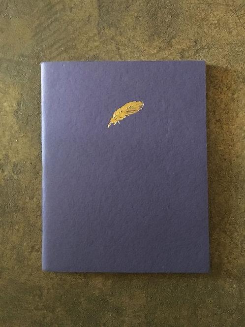 "Cahier de dessin ""Empreinte Plume"""