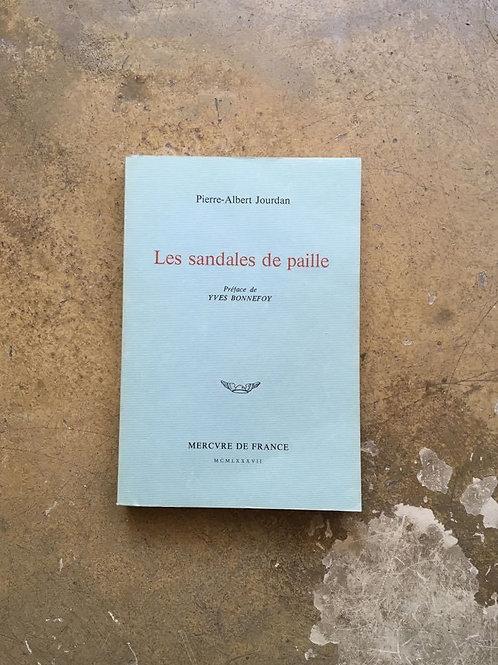 """JOURDAN Pierre-Albert """"Les sandales de paille"""""""