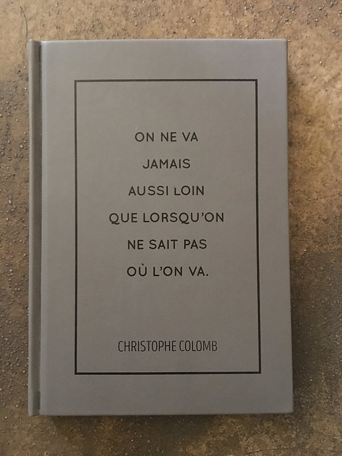 Cahier citation Christophe Colomb