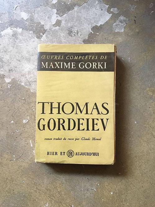 """GORKI  Maxime """"Thomas Gordeiev"""""""