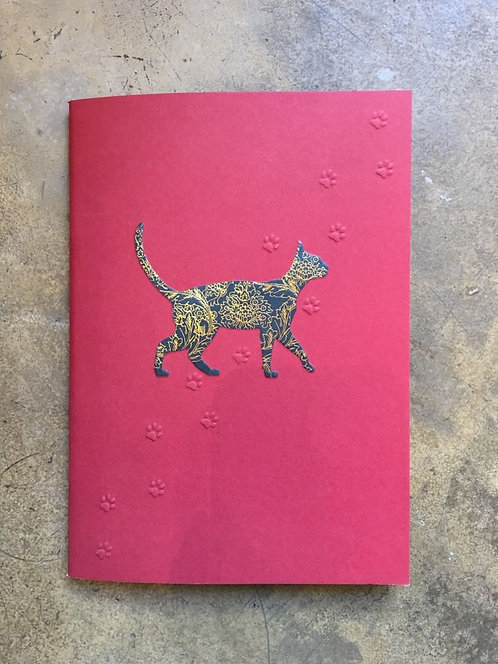 """Cahier A5 collection """"Icônes"""" CHAT"""