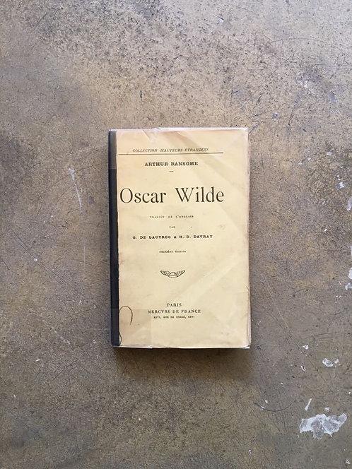 "RANSOME  Arthur ""Oscar WILDE"""