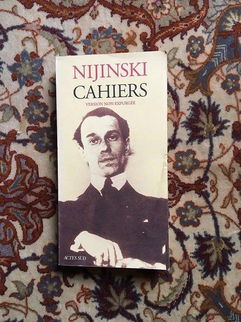 """NIJINSKI  """"Cahiers"""""""