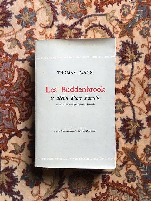 """MANN Thomas  """"Les Buddenbrook"""""""
