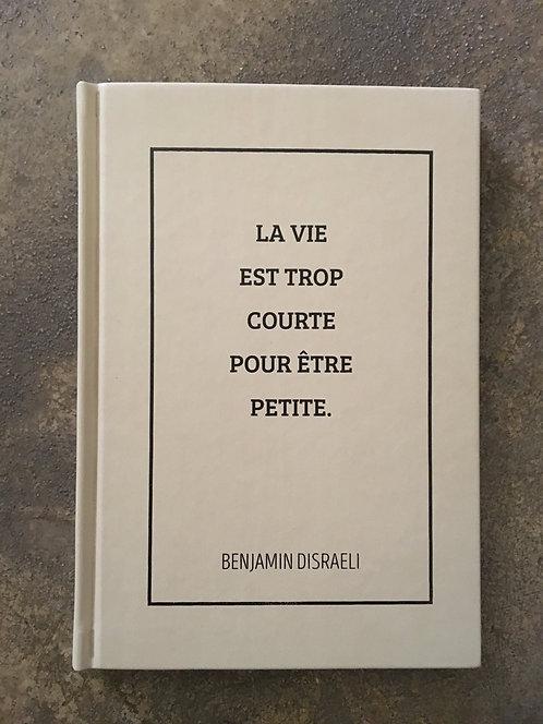 Cahier citation Benjamin Disraeli